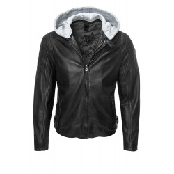 Men´s Leather Jacket Muriel Black