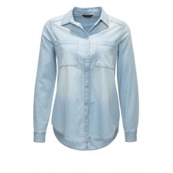 Womens Blouse Fiona Light Blue
