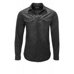 Mens Black Shirt Damon
