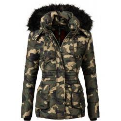 Womens Winter Jacket Carmen Camo