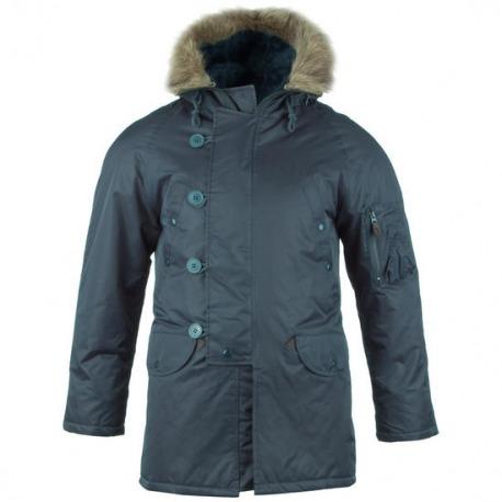 Men´s Navy Military Jacket Louder - Babylonia 0e9bff90bb3