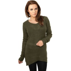 Womens Pullover Jaime Olive Green