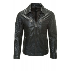Men´s Leather Jacket Xavier Black