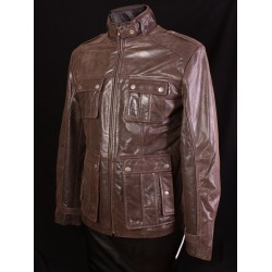 Men´s Leather Jacket Raymond Brown