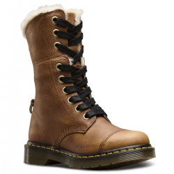Womens Winter Boots Dr.Martens Aimilita Brown