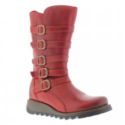 Womens Boots Valentine Red