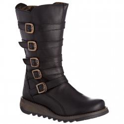 Womens Boots Valentine Black