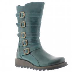 Womens Boots Valentine Petrol