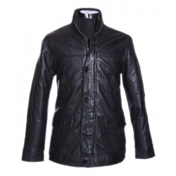 Men´s Leather Coat Gerrard Black