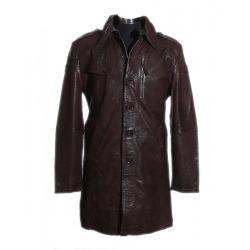 Men´s Leather Coat Vincent Brown