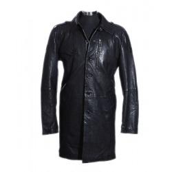 Men´s Leather Coat Vincent Black