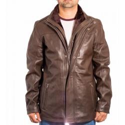 Men´s Leather Coat Magnus Brown