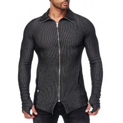 Men´s Cardigan Skyler Black