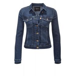 Womens Denim Jacket Nikka Navy