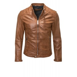 Men´s Leather Jacket Artur Brown