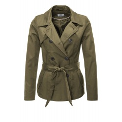 Womens Coat Leticia Olive