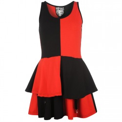 Womens Dress Abbey Red / Black