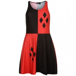 Womens Dress Sue Red / Black
