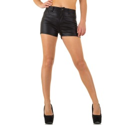 Womens Jeans Shorts Mia Black