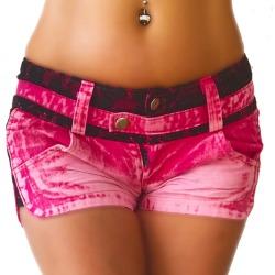 Womens Shorts Nadia Pink