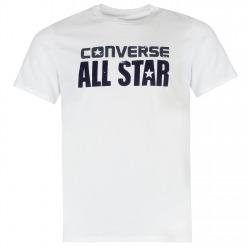 Mens T-shirt Converse Box White