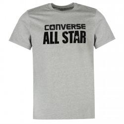 Mens T-shirt Converse Box Grey