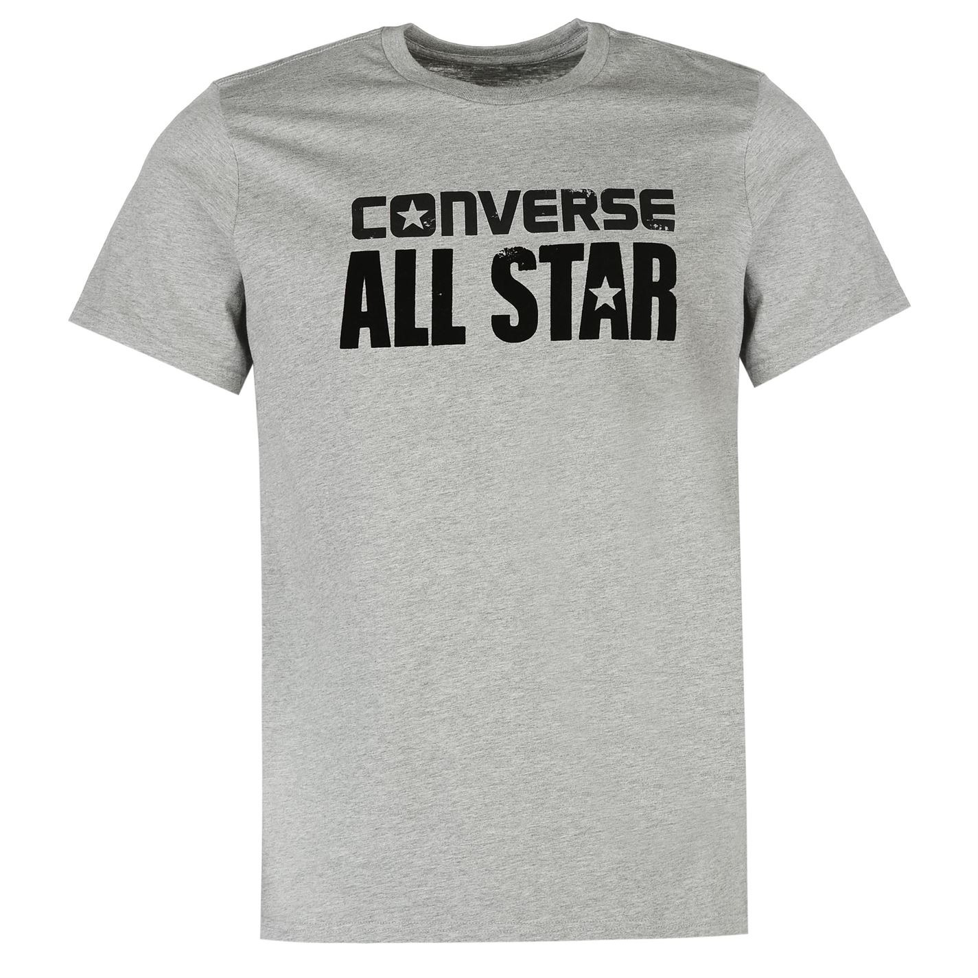 a7854fcd3abc Mens T-shirt Converse Box Grey. Loading zoom