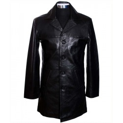 Men´s Leather Coat Nick Black