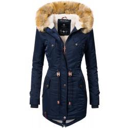 Womens Winter Jacket Lucia Navy