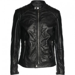 Men´s Leather Jacket Bertrand Brown