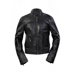 Mens Leather Jacket Neal Grey