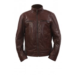 Men´s Leather Jacket Blake Brown