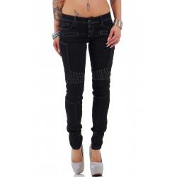 Womens Jeans Luna Indigo Blue