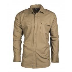 Men´s Shirt Alec Light Brown