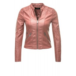 Womens Leatherette Dominica Pink