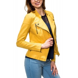 Womens Leatherette Raynee Yellow