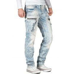 Mens Blue Denim Jeans Croix