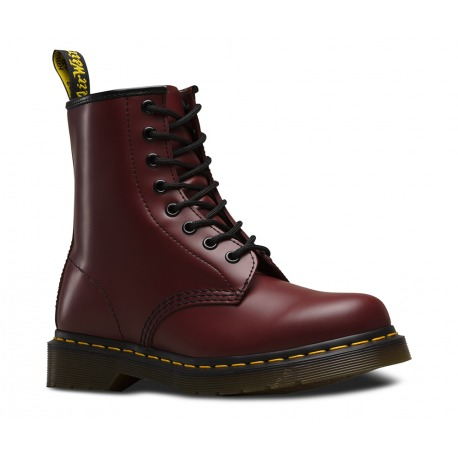 Boots Dr.Martens 8 Eye Smooth Red