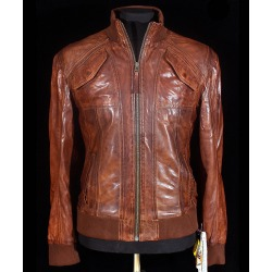 Men´s Leather Jacket Healer Brown