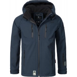 Mens Softshell Jacket Timur Navy