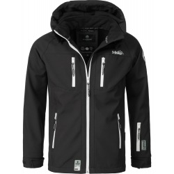 Mens Softshell Jacket Timur Black