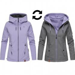 Womens 2 in 1 Softshell Jacket Gala Grey
