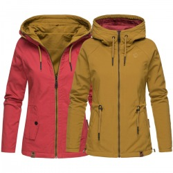 Womens 2 in 1 Softshell Jacket Gala Red