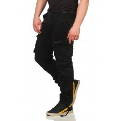 Men´s Cargo Trousers Oliver Black