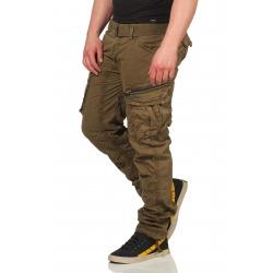 Men´s Cargo Trousers Oliver Khaki