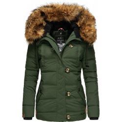 Womens Winter Jacket Adele Green