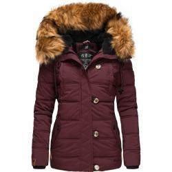 Womens Winter Jacket Adele Bordeaux