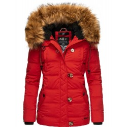 Womens Winter Jacket Adele Red
