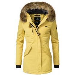 Womens Winter Jacket Kristina Yellow