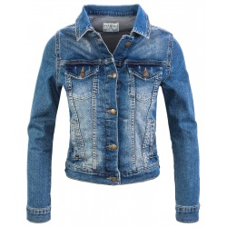 Womens Denim Jacket Nadia Blue